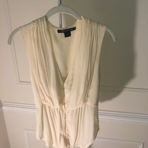 100% Silk French Connection Blouse